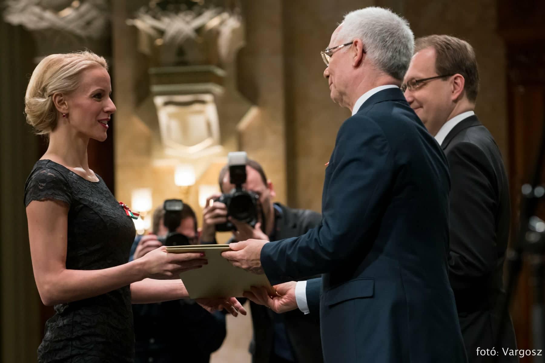Gyurmánczi Diána Harangozó-díjban részesült